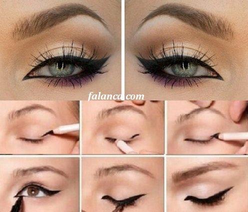 Kuyruklu Eyeliner Nasıl Çekilir?