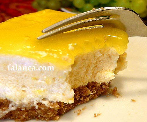 limonlu cheeseCake limonlu kek  - Limonlu Cheesecake Tarifi