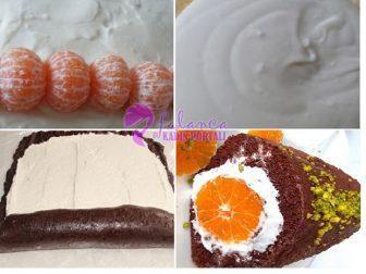 Mandalinali Rulo Pasta 1