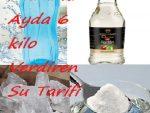 Maranki Ayda 6 Kilo Verdiren Su Tarifi
