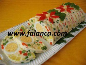 Mayonezli Dondurulmuş Salata