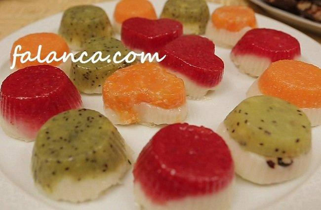 Meyveli Pastaciklar Sutlu Tatlilar