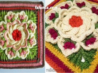 Motifli battaniye modelleri