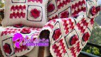 motifli battaniye yapılışı