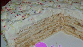 Muzlu Yaş Pasta Yapılışı