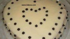 Muzlu Kalpli Pasta Yapılışı