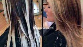 Evde Ombre Saç Boyama Nasıl Yapılır? Video