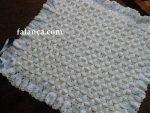Tığ İşi Bebek Battaniye Modelleri - 14