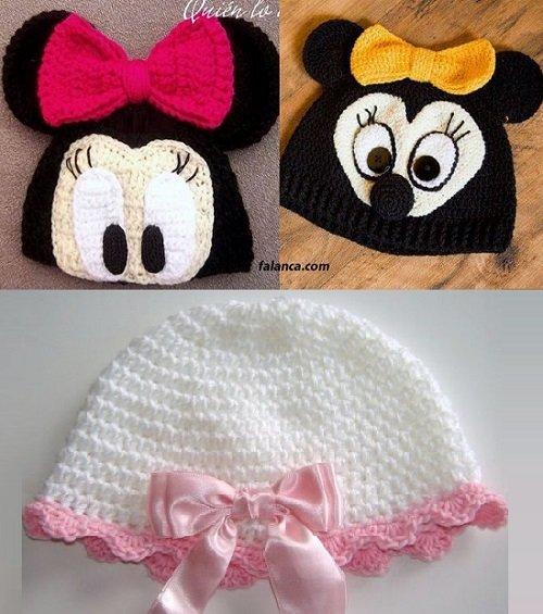 Bebek Şapka Modelleri