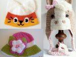 Örgü Bebek Şapka Modelleri - 2
