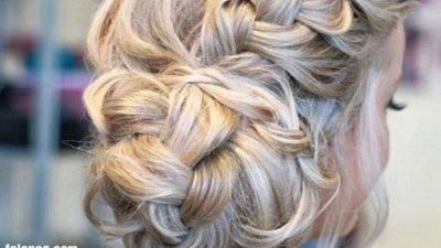 Abiye Örgü Saç Modelleri