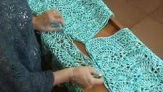örgü tunik yapımı
