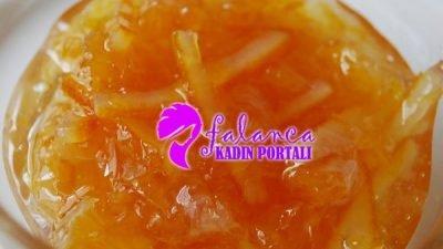 Portakal Reçeli Yapılışı