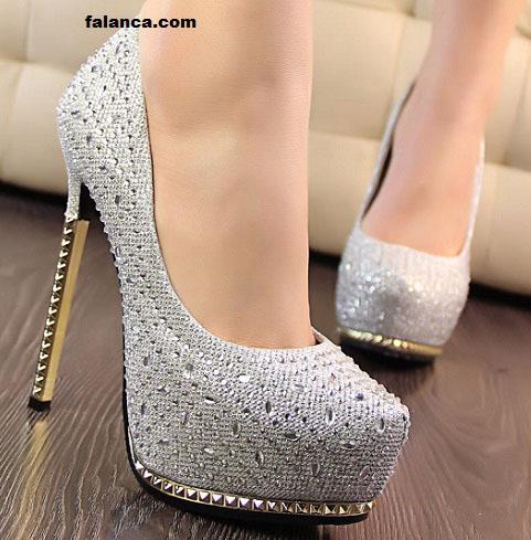 Parlak Ayakkabı Modelleri