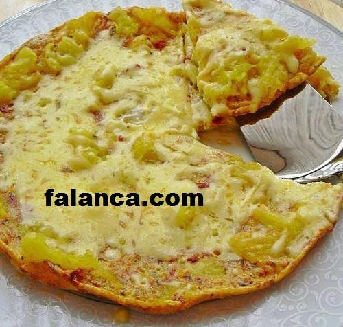 Patatesli Pizza