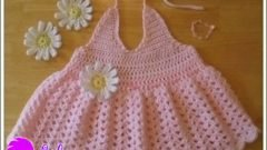 Pembe Yazlık Elbise