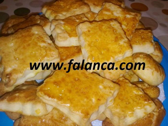Peynirli Bisküvi Yapılışı