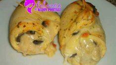Peynirli Tavuk Sarma