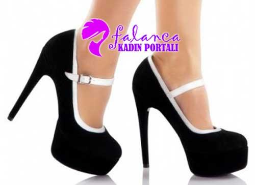 Yüksek Platformlu Ayakkabı Modelleri