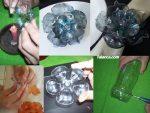 Plastik Siseden Ev Dekorasyonu Icin Cicek Yapimi 1