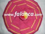 ponponlu carkifelek sapka  150x113 - 5 Şiş İle Şapka Yapılışı