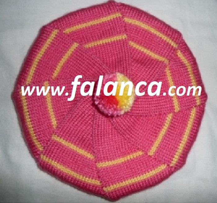 5 Şiş İle Şapka Yapılışı