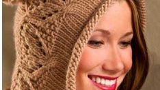 Ponponlu Örgü Şapka