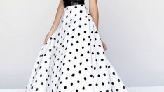 Puantiyeli Elbise Modelleri