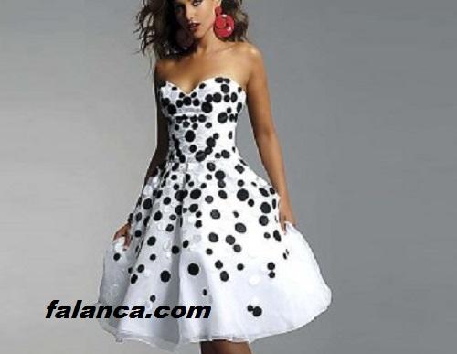 Puantiyeli Elbise Modelleri 2