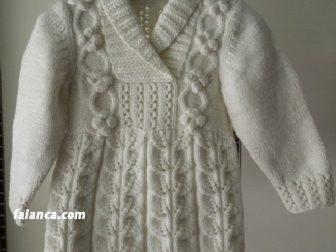 Şal Yaka Bebek Elbisesi Yapılışı