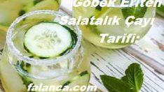 Göbek Eriten Salatalık Çayı Tarifi