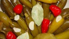 Salatalık Ve Fasülye Turşusu