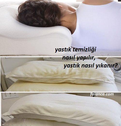 Sararan yastık nasıl temizlenir ve yastık nasıl yıkanır?