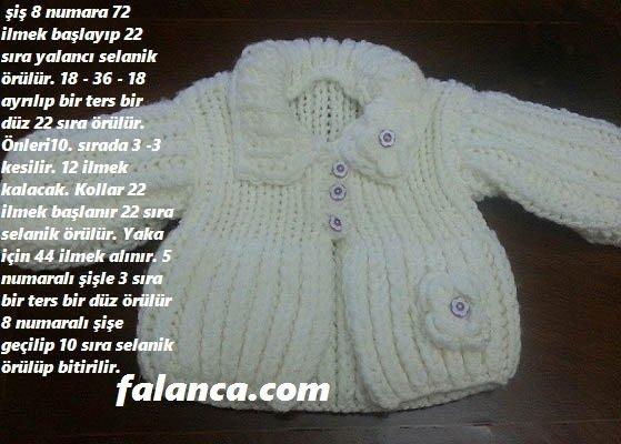 Selanik Bebek Hırkası 1