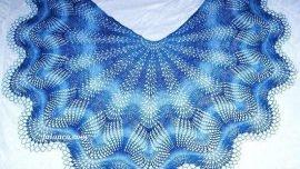 Yarım Daire Şal – Semicircular shawl