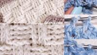 Sepet Örgü Tığ Battaniye Yapılışı