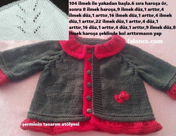 Dikişsiz Yeni Doğan Bebek Yelek Modelleri ve Örnekleri