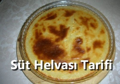 Bursa Süt Helvası Tarifi