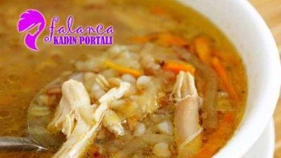 Tavuk Suyuna Buğday Çorbası