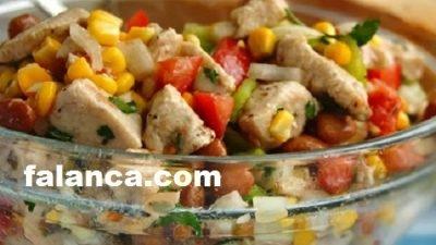 Tavuklu Salata Yapılışı
