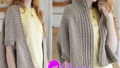 Ters Giyilen Yelek Modeli