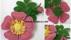 Toka- Broş İçin Çiçek Yapılışı