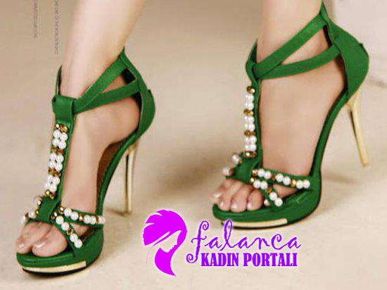 Topuklu Ayakkabı Modelleri 2014