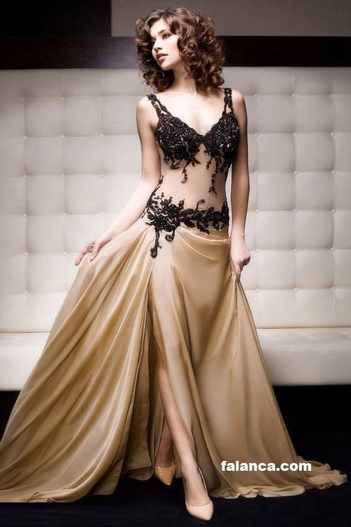 Uzun Abiye Elbiseler 1