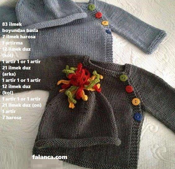 Yandan Dugmeli Bebek Hirkasi 1