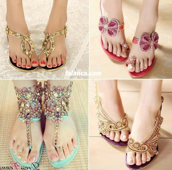 Yazlik Sandaletler 5