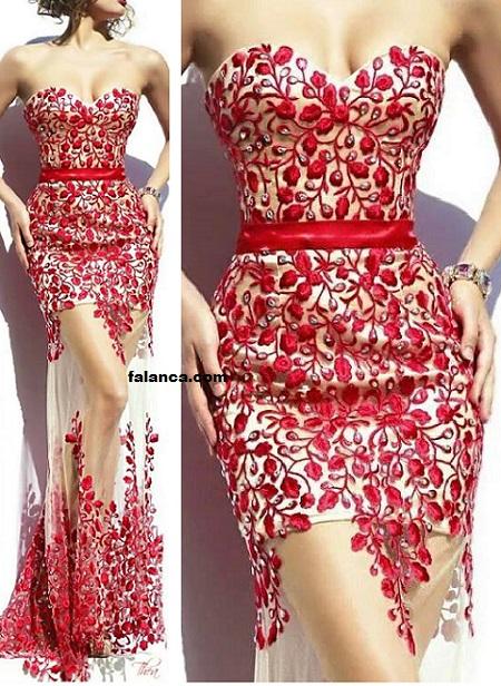 Pullu Elbise Modelleri