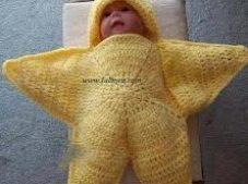 Yıldız Bebek Tulumu Yapılışı