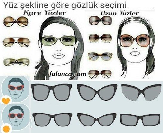 Yüz şekillerine göre gözlük modelleri