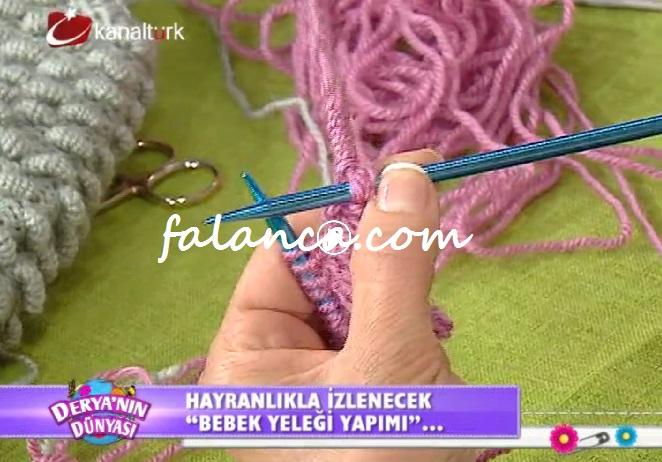 Zeynep Tufan Tirtil Bebek Yelegi Yepilisi Anlatimli Orguler 5